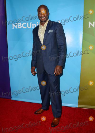 Akbar Gbajabiamila Photo - 02 April 2015 - Pasadena, California - Akbar Gbajabiamila. Arrivals for the NBC Universal Summer Press Day held at Langham Hotel. Photo Credit: Birdie Thompson/AdMedia