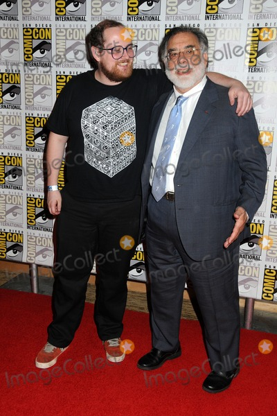 Francis Ford Coppola, Dan Deacon Photo - 23 July 2011 - San Diego, California - Dan Deacon and Francis Ford Coppola. Comic-Con International 2011 - Day 3 held at the San Diego Convention Center. Photo Credit: Byron Purvis/AdMedia