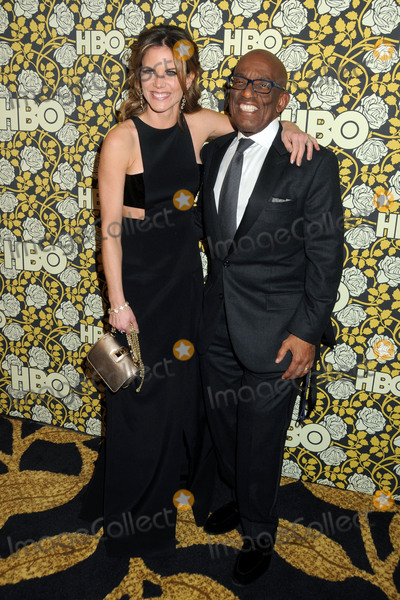 Al Roker, Natalie Morales Photo - 10 January 2016 - Beverly Hills, California - Natalie Morales, Al Roker. HBO 2016 Golden Globe Awards After Party held at Circa 55. Photo Credit: Byron Purvis/AdMedia