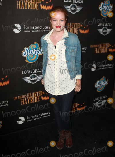 """Ana Lucasey, Ana Ivanoviæ Photo - 7 October 2012 - Los Angeles, California - Ana Lucasey. 4th Annual Los Angeles Haunted Hayride - """"The Congregation""""  Held At The Griffith Park. Photo Credit: Kevan Brooks/AdMedia"""