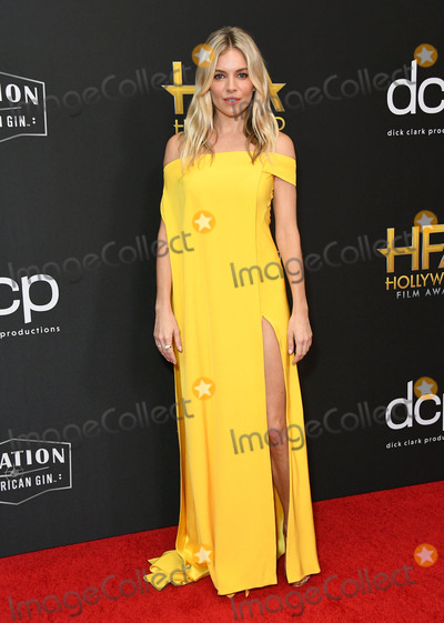 Sienna Miller Photo - 03 November 2019 - Beverly Hills, California - Sienna Miller. 23rd Annual Hollywood Film Awards held at Beverly Hilton Hotel. Photo Credit: Birdie Thompson/AdMedia