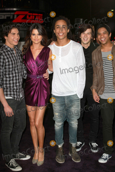 "Gomez, Selena Gomez, Allstar Weekend, Justin Bieber Photo - 8 February 2011 - Los Angeles, California - Allstar Weekend with Selena Gomez. ""Justin Bieber: Never Say Never"" Los Angeles Premiere held At Nokia Theatre L.A Live. Photo: Kevan Brooks/AdMedia"