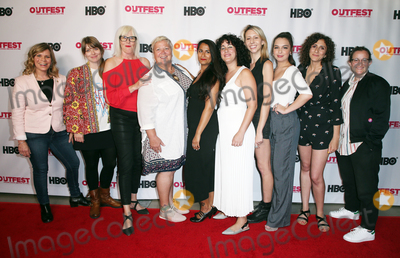 "Amber Benson, Gomez, The Script, Isabella Gomez, Marja-Lewis Ryan Photo - 20 July 2019 - Hollywood, California - Tracy E. Gilchrist, Amber Benson, Stephanie Ouaknine, Isabella Gomez, Gabrielle Zilkha, Marja-Lewis Ryan. 2019 Outfest Los Angeles LGBTQ Film Festival - ""Queering The Script"" Panel At Outfest Film Festival held at TCL Chinese 6 Theatres. Photo Credit: Faye Sadou/AdMedia"