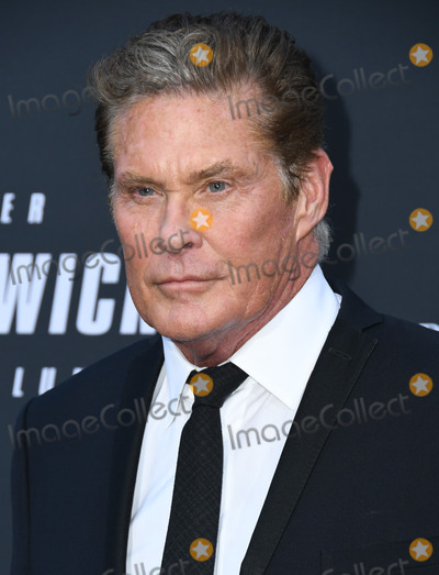"David Hasseloff, TCL Chinese Theatre, John Wicks Photo - 15 May 2019 - Hollywood, California - David Hasseloff. ""John Wick: Chapter 3 - Parabellum"" Special Screening Los Angeles held at the TCL Chinese Theatre. Photo Credit: Birdie Thompson/AdMedia"