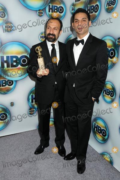Peyman Moaadi, Asghar Farhadi Photo - 15 January 2012 - Beverly Hills, California - Asghar Farhadi and Peyman Moaadi. HBO 2012 Golden Globe Awards Post Party held at Circa 55 Restaurant. Photo Credit: Byron Purvis/AdMedia