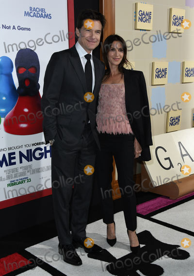 "Amanda Anka, Jason Bateman, TCL Chinese Theatre Photo - 21 February 2018 - Hollywood, California - Jason Bateman, Amanda Anka. ""Game Night"" LA Premiere held at TCL Chinese Theatre. Photo Credit: Birdie Thompson/AdMedia"