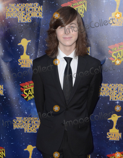 Chandler Riggs Photo - 22 June 2016 - Burbank. Chandler Riggs. Arrivals for the 42nd Annual Saturn Awards held at The Castaway. Photo Credit: Birdie Thompson/AdMedia