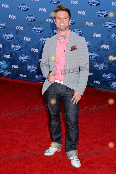 "Blake Lewis Photo - 25 May 2011 - Los Angeles, California - Blake Lewis. ""American Idol 2011"" Finale - Arrivals held at Nokia Theatre LA Live. Photo Credit: Byron Purvis/AdMedia"