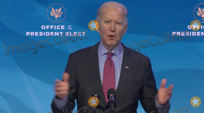 Joe Biden, Queen, Biden Transition Photo - United States President-elect Joe Biden delivers remarks introducing key members of his economic and jobs team from the Queen Theatre in Wilmington, Delaware on Friday, January 8, 2021. Credit: Biden Transition TV via CNP/AdMedia