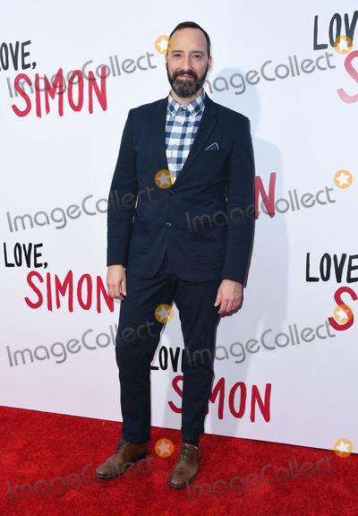 "Tony Hale Photo - 13 March 2018 - Culver City, California - Tony Hale. ""Love, Simon"" Los Angeles Special Screening held at Westfield Century City. Photo Credit: Birdie Thompson/AdMedia"