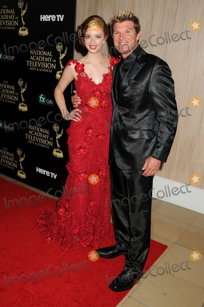 Winsor Harmon, Ashlyn Pearce Photo - 22 June 2014 - Beverly Hills, California - Ashlyn Pearce, Winsor Harmon. 41st Annual Daytime Emmy Awards - Arrivals held at The Beverly Hilton Hotel. Photo Credit: Byron Purvis/AdMedia
