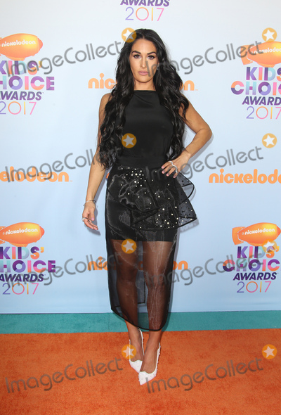Nikki Bella Photo - 11 March 2017 -  Los Angeles, California - Nikki Bella. Nickelodeon's Kids' Choice Awards 2017 held at USC Galen Center. Photo Credit: Faye Sadou/AdMedia