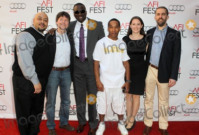 Photos And Pictures 3 November 2012 Hollywood California Raymond Santana Ken Burns Yusek Salam Korey Wise Sarah Burns David Mcmahon 2012 Afi Fest The Central Park Five Special