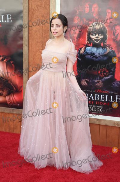 "Katie Sarife Photo - 20 June 2019 - Westwood, California - Katie Sarife. The Premiere Of Warner Bros' ""Annabelle Comes Home""  held at Regency Village Theatre. Photo Credit: Faye Sadou/AdMedia"