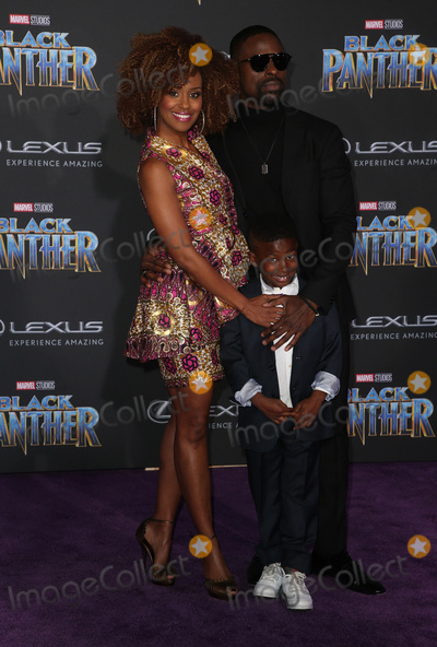 "Andrew Brown, Ryan Michelle Bathe, Black Panther Photo - 29 January 2018 - Hollywood, California - Ryan Michelle Bathe, Sterling K. Brown, Andrew Brown. Marvel Studios' ""Black Panther"" World Premiere held at Dolby Theater. Photo Credit: F. Sadou/AdMedia"
