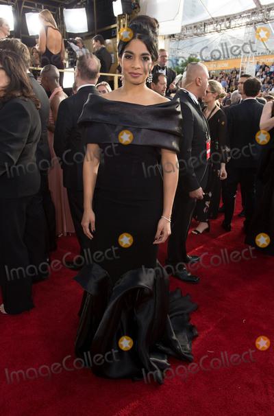 Amara Karan Photo - 08 January 2016 - Beverly Hills, California - Amara Karan.74th Annual Golden Globe Awards held at the Beverly Hilton. Photo Credit: HFPA/AdMedia