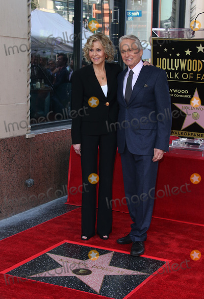 Jane Fonda, Michael Douglas, Vines Photo - 6 November 2018-  Hollywood, California - Jane Fonda, Michael Douglas, Hollywood Walk of Fame Ceremony Honoring Michael Douglas, held at Hollywood & Vine. Photo Credit: Faye Sadou/AdMedia
