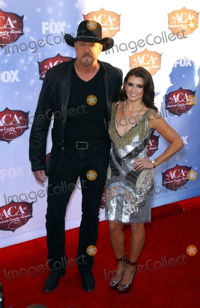 Danica Patrick, Trace Adkins Photo - 10 December 2013 - Las Vegas, Nevada - Trace Adkins, Danica Patrick. 2013 American Country Awards Arrivals at Mandalay Bay Resort Hotel and Casino. Photo Credit: mjt/AdMedia