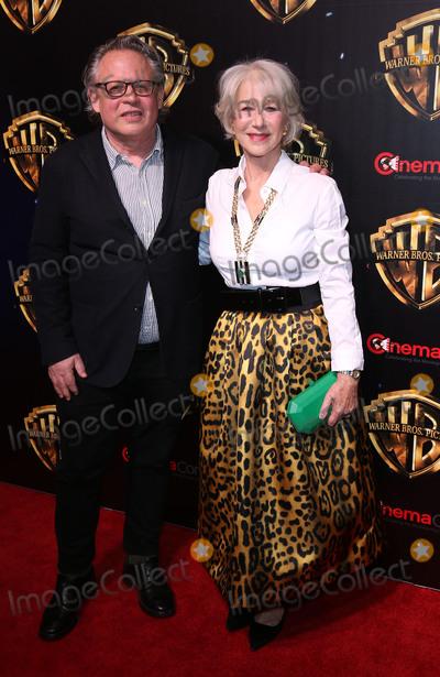 Bill Condon, Helen Mirren Photo - 02 April 2019 - Las Vegas, NV - Bill Condon, Helen Mirren. 2019 CinemaCon WB Studio Presentation Red Carpet at Caesars Palace. Photo Credit: MJT/AdMedia
