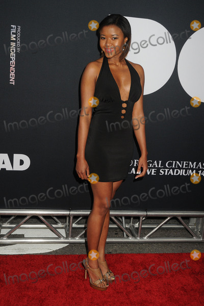 """Amira Lumbly, Dope Photo - 8 June 2015 - Los Angeles, California - Amira Lumbly. LA Film Festival 2015 Premiere of """"Dope"""" held at Regal Cinemas L.A. Live. Photo Credit: Byron Purvis/AdMedia"""