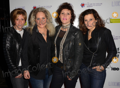 "Antigone Rising Photo - 19 March 2015 - West Hollywood, California - Dena Tauriello, Cathy Henderson, Kristen Henderson, Nini Camps, Antigone Rising. Arrivals for the Los Angeles screening of HBO's ""Looking"" Season 2 Finale held at The Abbey Food & Bar. Photo Credit: Birdie Thompson/AdMedia"