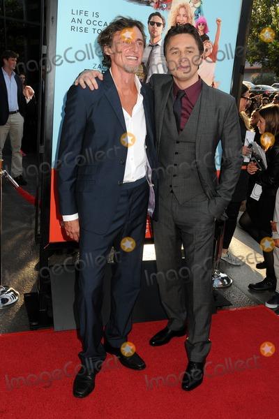 "Zach Braff, Adam Braff Photo - 23 June 2014 - West Hollywood, California - Adam Braff, Zach Braff. ""Wish I Was Here"" Los Angeles Premiere held at the DGA Theater. Photo Credit: Byron Purvis/AdMedia"