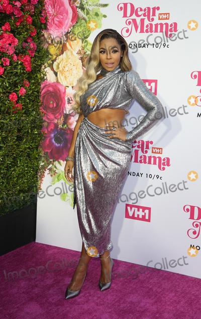 "Ashanti Photo - 02 May 2019 - Los Angeles, California - Ashanti. VH1's Annual ""Dear Mama: A Love Letter To Mom""  held at The Theatre at Ace Hotel. Photo Credit: Faye Sadou/AdMedia"
