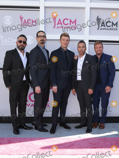 Backstreet Boys, Backstreet  Boys Photo - 02 April 2017 - Las Vegas, Nevada - Backstreet Boys.  2017 Academy Of Country Music Awards held at T-Mobile Arena. Photo Credit: MJT/AdMedia