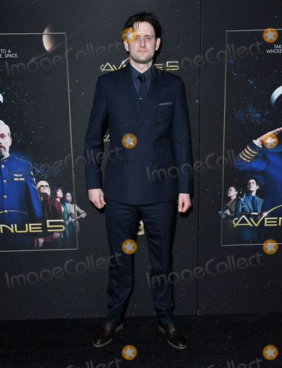 """Zach Woods, Zach Wood Photo - 14 January 2020 - Hollywood, California - Zach Woods. HBO's """"Avenue 5"""" Premiere - Los Angeles  held at Avalon Hollywood. Photo Credit: Birdie Thompson/AdMedia"""