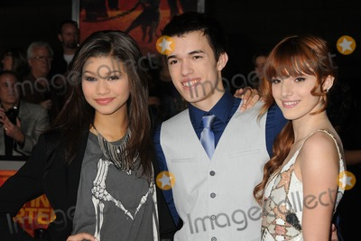 "Bella Thorne, John Carter, Remy Thorne, Zendaya Coleman Photo - 22 February 2012 - Los Angeles, California - Zendaya Coleman, Remy Thorne, Bella Thorne. ""John Carter"" Los Angeles Premiere held at Regal Cinemas L.A. Live. Photo Credit: Byron Purvis/AdMedia"