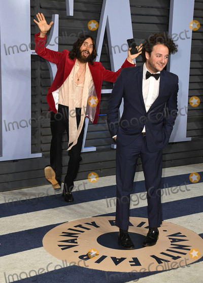Jared Leto Photo - 04 March 2018 - Los Angeles, California - Jared Leto. 2018 Vanity Fair Oscar Party hosted following the 90th Academy Awards held at the Wallis Annenberg Center for the Performing Arts. Photo Credit: Birdie Thompson/AdMedia