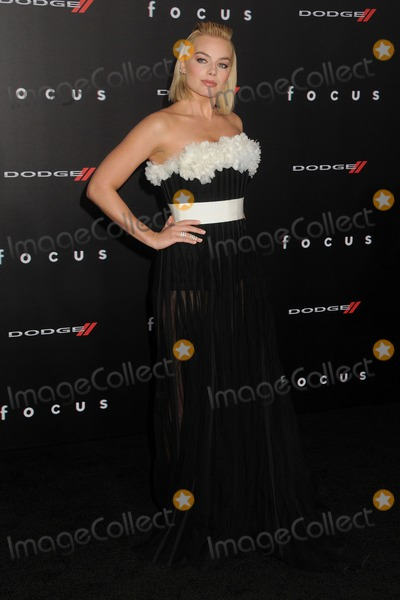 """Margot Robbie, TCL Chinese Theatre Photo - 24 February 2015 - Hollywood, California - Margot Robbie. """"Focus"""" Los Angeles Premiere held at the TCL Chinese Theatre. Photo Credit: Byron Purvis/AdMedia"""