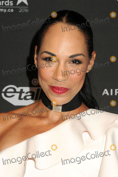 "Amanda Brugel, Four Seasons, The Four Seasons Photo - 25 February 2016 - Los Angeles, California - Amanda Brugel. 3rd Annual ""An Evening With Canada's Stars"" held at the Four Seasons Hotel. Photo Credit: Byron Purvis/AdMedia"