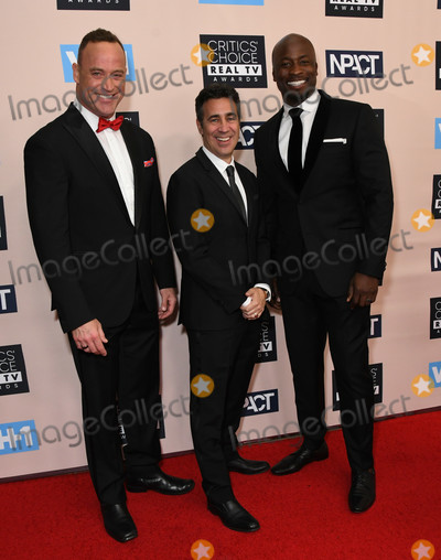 Arthur Smith, Matt Iseman, Akbar Gbajabiamila Photo - 02 June 2019 - Beverly Hills, California - Matt Iseman, Arthur Smith, Akbar Gbajabiamila. 2019 Critic's Choice Real TV Awards held at Beverly Hilton Hotel. Photo Credit: Birdie Thompson/AdMedia
