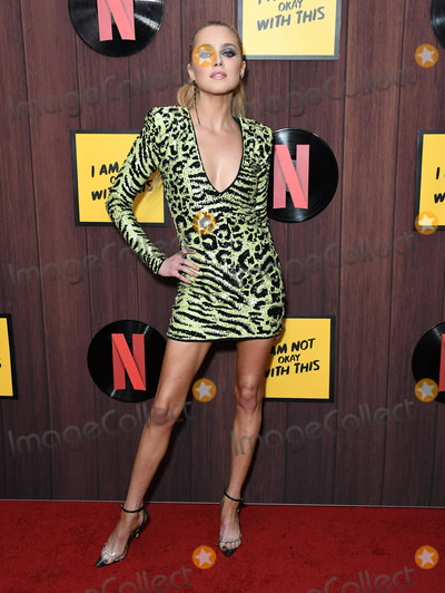 """Anne Winters, Ann Winters Photo - 25 February 2020 - West Hollywood, California - Anne Winters. Netflix's """"I'm Not Okay With That"""" Los Angeles Premiere held at The London West Hollywood. Photo Credit: Birdie Thompson/AdMedia"""