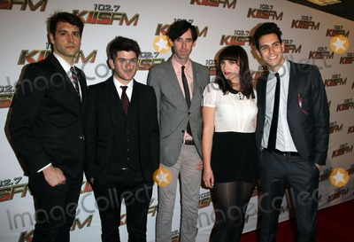 Alex Suarez, Cobra Starship, Gabe Saporta, Starship, Victoria Asher Photo - 14 May 2011 - Los Angeles, California - Alex Suarez, Nate Novarro, Ryland Blackinton, Victoria Asher, and Gabe Saporta of Cobra Starship. KIIS FM's 2011 Wango Tango Concert - Arrivals  Held At The Staples Center. Photo Credit: Kevan Brooks/AdMedia