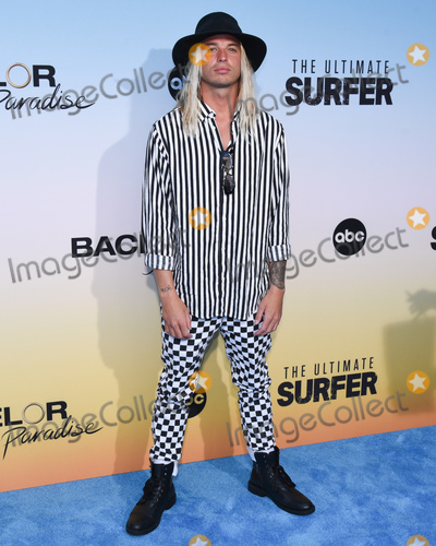 """Austin Clouse Photo - 12 August 2021 - Santa Monica, California - Austin Clouse. ABC's """"Bachelor In Paradise"""" And """"The Ultimate Surfer"""" Premiere. Photo Credit: Billy Bennight/AdMedia"""