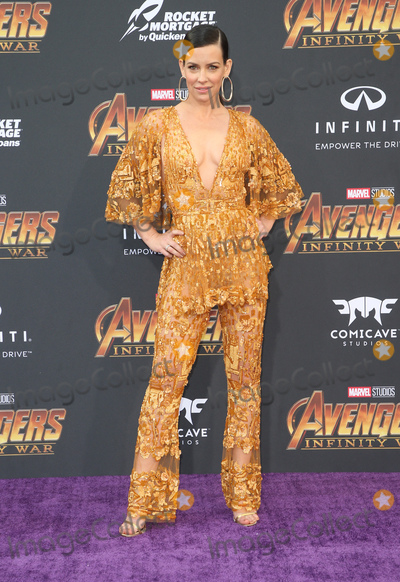 """Evangeline Lilly Photo - 23 April 2018 - Hollywood, California - Evangeline Lilly. Disney and Marvel's """"Avengers: Infinity War"""" Los Angeles Premiere held at Dolby Theater. Photo Credit: F. Sadou/AdMedia"""