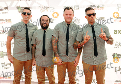Chad Gilbert, Ian Grushka, Jordan Pundik, New Found Glory Photo - 22 July 2015 - Cleveland, Ohio - Jordan Pundik, Ian Grushka, Chad Gilbert, and Cyrus Bolooki of the band New Found Glory attend the 2015 Alternative Press Music Awards at Quicken Loans Arena. Photo Credit: Jason L Nelson/AdMedia