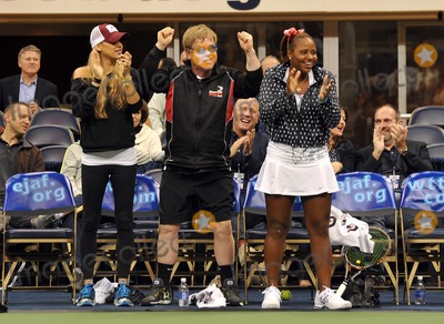 Team Elton, Anna Kournikova, Billie Jean King, Billy Jean King, Elton John, Sir Elton John, Taylor Townsend Photo - 16 October 2012 - Pittsburgh, PA - Music legend SIR ELTON JOHN and tennis stars ANNA KOURNIKOVA and TAYLOR TOWNSEND participated at the Mylan WTT Smash Hits World Team Tennis Match held at the Petersen Events Center. The 20th anniversary edition of Mylan WTTSmash Hits presented by GEICO, was one for the record books with the event posting a record $1 million for the Elton John AIDS Foundation with a portion of those proceeds benefitting the Pittsburgh AIDS Task Force. Theevent, hosted annually by Sir Elton John and Billie Jean King, has now raised more the $11.5 million to support HIV and AIDS prevention and awareness programs since the first Smash Hits was held in Los Angeles in 1993.  Photo Credit: Jason L Nelson/AdMedia