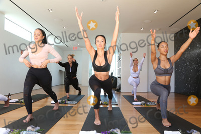Adrienne Bailon, Draya Michele, Draya Michelle, Jasmine Sanders Photo - 31 March 2017 - Beverly Hills, California - Jasmine Sanders, Draya Michele, Serayah McNeill, Adrienne Eliza Houghton, Adrienne Bailon. Draya Michele and Friends at AloYoga. Photo Credit: AdMedia