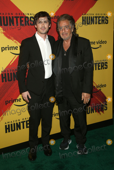 Al Pacino, Logan Lerman Photo - 19 February 2020 - Los Angeles, California - Logan Lerman, Al Pacino. the world premiere of Hunters held at DGA Theater. Photo Credit: FS/AdMedia