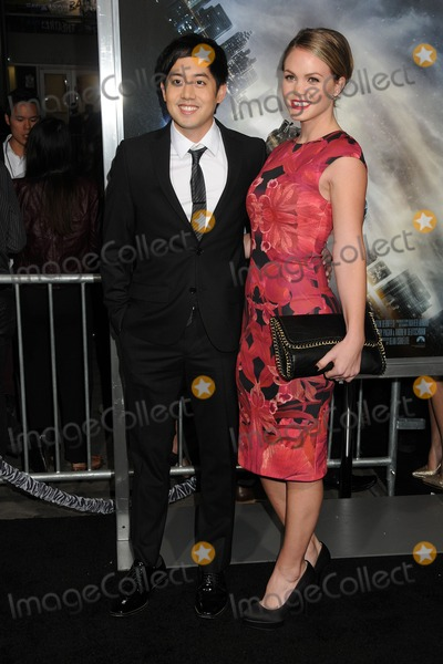 """Allen Evangelista, TCL Chinese Theatre Photo - 27 January 2015 - Hollywood, California - Allen Evangelista, Christina Burhoe. """"Project Almanac"""" Los Angeles Premiere held at the TCL Chinese Theatre. Photo Credit: Byron Purvis/AdMedia"""