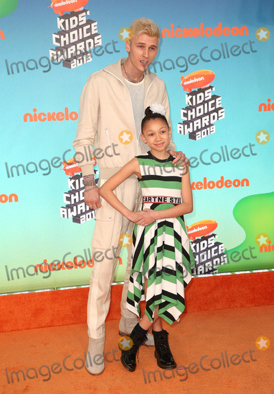 Photo - 23 March 2019 - Los Angeles, California - Machine Gun Kelly and Casie Colson Baker. 2019 Nickelodeon Kids' Choice Awards held at The USC Galen Center. Photo Credit: Faye Sadou/AdMedia