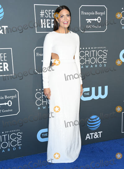 Mandy Moore Photo - 13 January 2019 - Santa Monica, California - Mandy Moore. The 24th Annual Critics' Choice Awards held at Barker Hangar. Photo Credit: Birdie Thompson/AdMedia