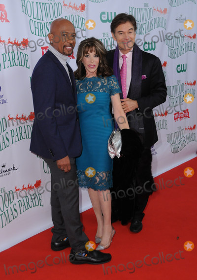 Kate Linder, Montel Williams, Dr Oz, Dr. Oz, MONTELL WILLIAMS Photo - 26 November  2017 - Hollywood, California - Montel Williams, Kate Linder, Dr. Oz. The 86th Annual Hollywood Christmas Parade held at Hollywood Blvd.  in Hollywood. Photo Credit: Birdie Thompson/AdMedia