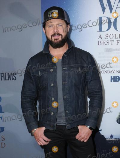 "AJ Buckley Photo - 06 November  2017 - Los Angeles, California - AJ Buckley. ""War Dog: A Soldier's Best Friend"" Los Angeles premiere held at Director's Guild of America in Los Angeles. Photo Credit: Birdie Thompson/AdMedia"