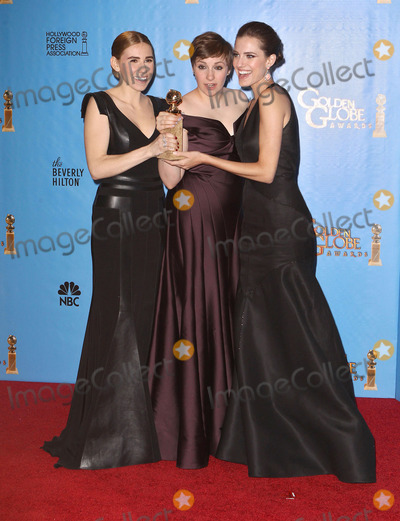 Allison Williams, Lena Dunham, Zosia Mamet Photo - 13 January 2013 - Hollywood, California - Zosia Mamet, Lena Dunham, Allison Williams. 70th Annual Golden Globe Awards held at the Beverly Hilton Hotel. Photo Credit:Collin/Starlitepics/AdMedia