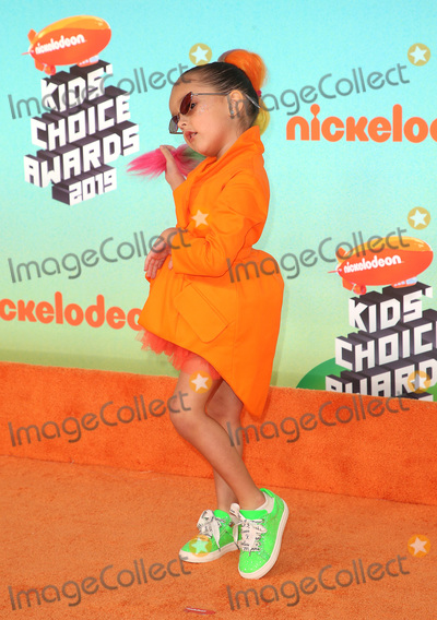 Taylen Biggs Photo - 23 March 2019 - Los Angeles, California - Taylen Biggs. 2019 Nickelodeon Kids' Choice Awards held at The USC Galen Center. Photo Credit: Faye Sadou/AdMedia