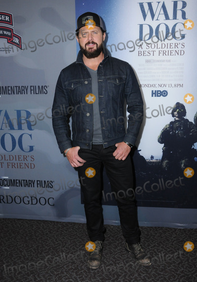 "AJ Buckley Photo - 06 November  2017 - Los Angeles, California - AJ Buckley. ""War Dog: A Soldier's Best Friend"" Los Angeles premiere held at Director's Guild of America in Los Angeles. Photo Credit: Birdie Thompson/AdMedia"
